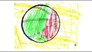 La pelota de los Power Rangers