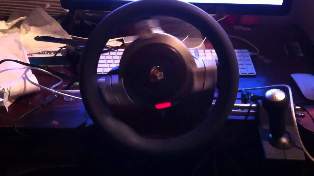 Fanatec Porsche 911 Carrera problem - YouTube