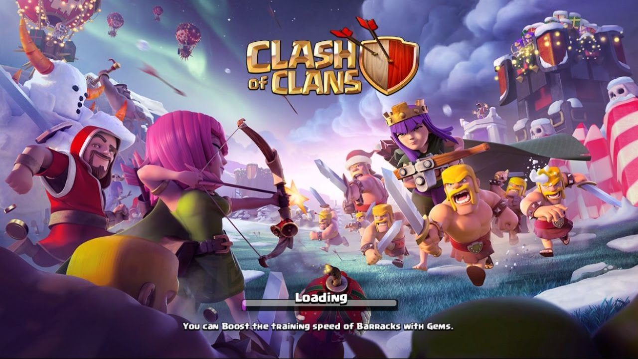Clash of Clans - New Update Merry Clashmas! New Upgrade 2016 - YouTube