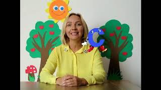 Отрывок из видео-урока по обучению малышей русскому алфавиту и чтению
