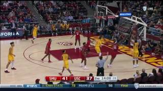 Men's Basketball: USC 78, SMU 73 - Highlights 11/25/16