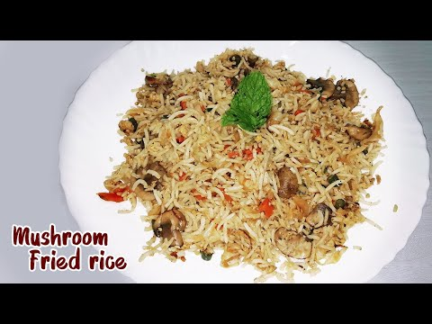 how-to-make-mushroom-fried-rice---tasty-lunch-recipes---vegetable-fried-rice---ஃப்ரைட்-ரைஸ்