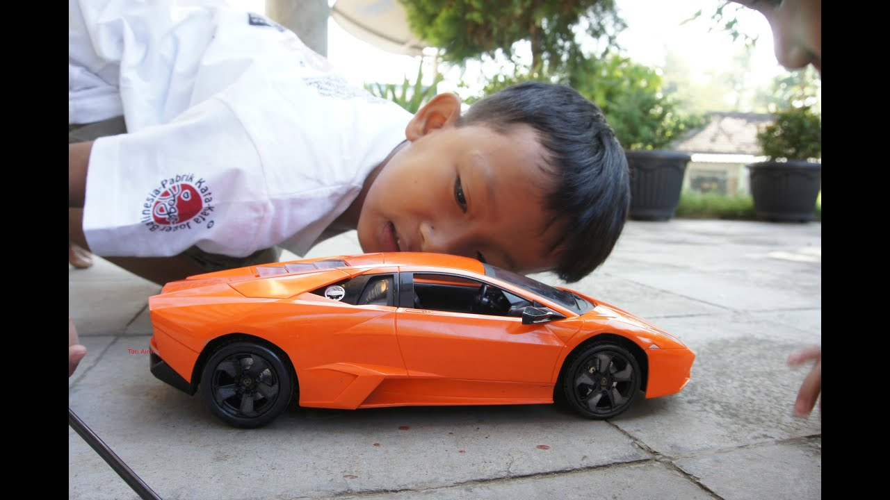 RC Lamborghini Gallardo Remote Control Car Tori Airin Chanel Kids   YouTube