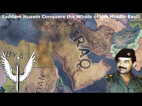 Iraq Invades the Entire Middle East! (Hoi4 Speedrun/Timelapse)