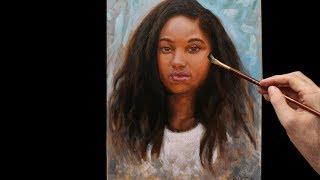 Pintando a óleo - dicas de retrato