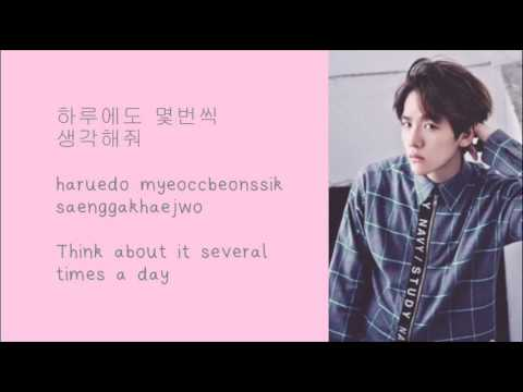 EXO BAEKHYUN – 두근거려 Beautiful Lyrics