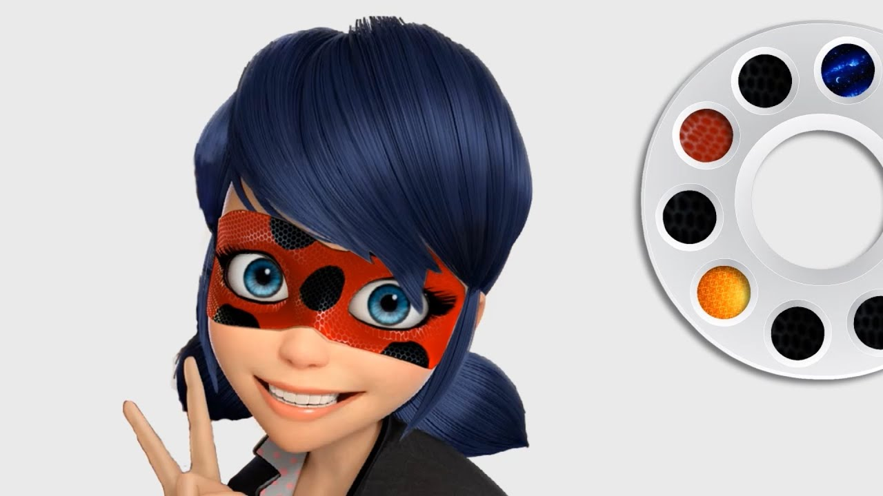 Miraculous Ladybug Face Painting Face Painting Coloring