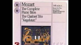Mozart - (3rd mvt) Piano trio in B flat, K. 502 - Allegretto