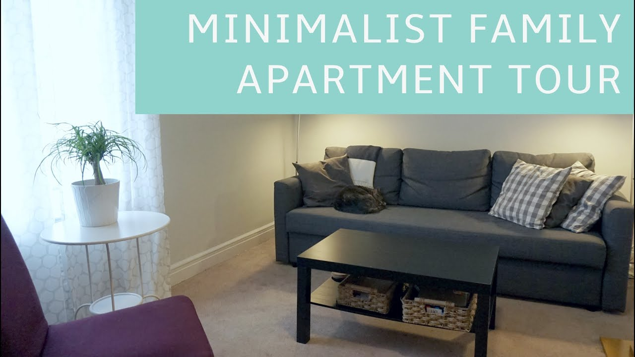 Minimalist Family Of Three In A One Bedroom Apartment Tour Youtube