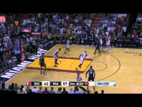 Indiana Pacers vs Miami Heat | April 11, 2014 | NBA 2013-14 Season