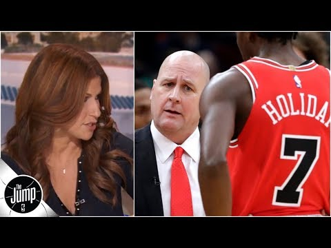 Rachel Nichols sees big irony in Bulls' current coaching mess | The Jump
