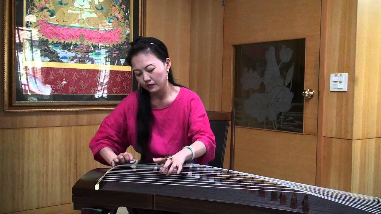 臺語輕音樂-陳盈潔 - 風飛沙 - 吳語宸-古箏 - YouTube