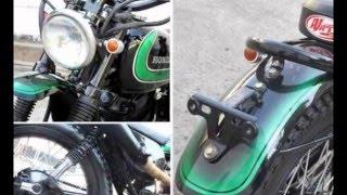 Video Modifikasi Motor Honda GL Pro Neo Tech, Transformasi Trail Klasik
