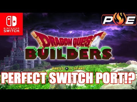 Dragon Quest Builders Demo Gameplay - Perfect Switch Port!?