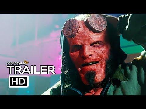 HELLBOY Official Trailer (2019) David Harbour, Superhero Movie HD