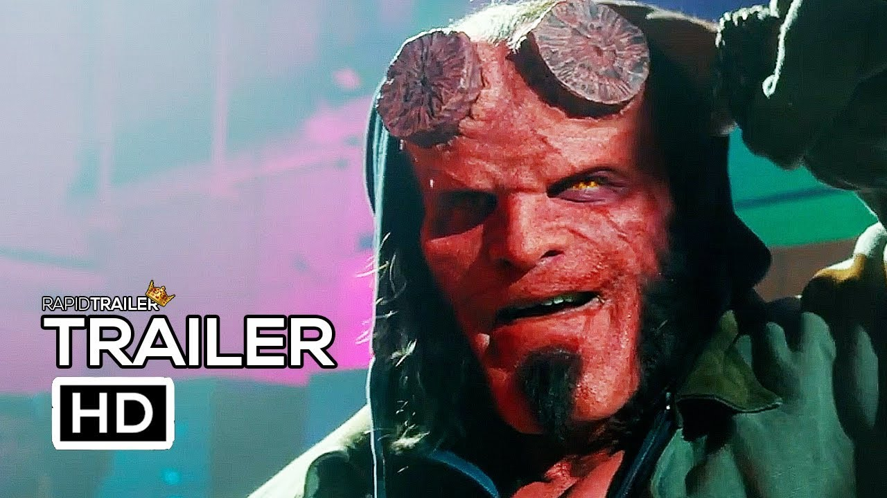 Hellboy Official Trailer 2019 David Harbour Superhero Movie Hd