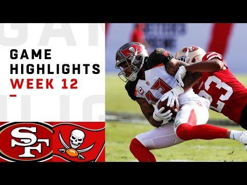 49ers vs. Buccaneers Week 12 Highlights   NFL 2018