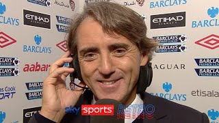 """""""he'll be a fantastic player in the future"""" - roberto mancini after sergio aguero's man city debut"""