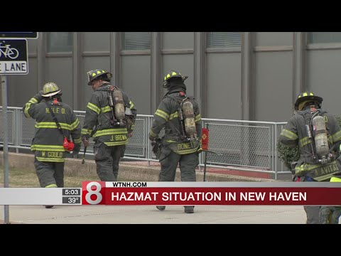 Chemical leak prompts evacuations, road closures in New Haven