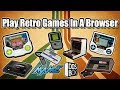 Play Retro Games in A Browser