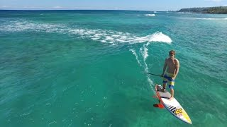 SUP Surf Foiling Hawaii