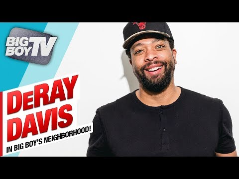 DeRay Davis on His Upcoming Netflix Special, His 2 Girlfriends & Freestyles For The Neighborhood