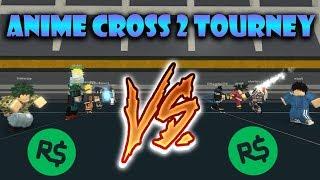 ANIME CROSS 2 TURNIER!! | Roblox: Anime Kreuz 2