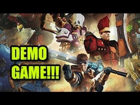 Warmachine: High Command Demo Game!