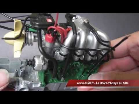 Ds 21 altaya montage n 7 youtube for Altaya ds 21