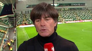 Joachim Löw post-match interview - Nordirland v Deutschland (2017)