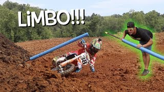 DIRT BIKE LIMBO!!! Top secret motocross techniques!