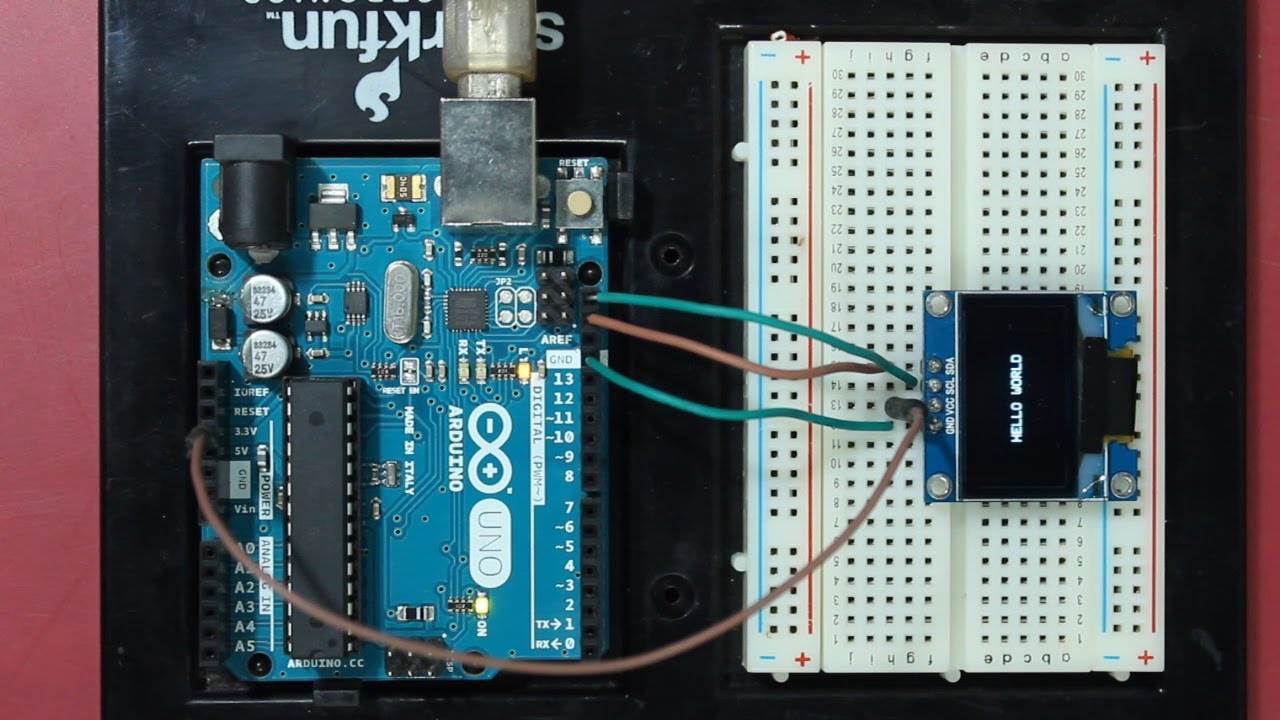Arduino And SSD1306 Oled Display Tutorial