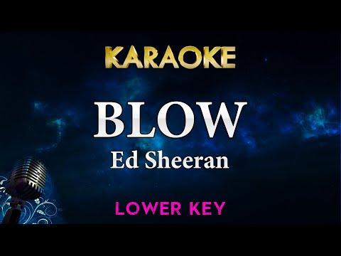 ed-sheeran---blow-ft.-chris-stapleton-&-bruno-mars-(lower-key-karaoke-instrumental)
