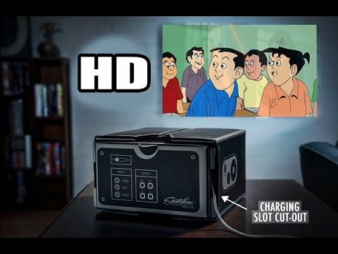 How To Make A Smartphone Projector HD
