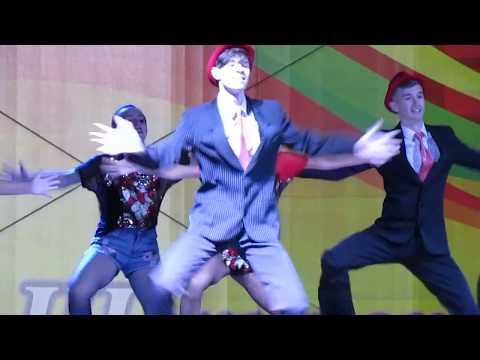"""""""Блатной"""" танец на День города Щекино 26.08.2017"""
