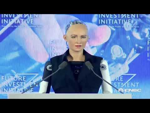 Breaking News World's first robot citizen Sophia AI is here Mandela Effect