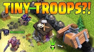TINY TROOPS IN CLASH OF CLANS?! - NEW - Shrink Trap Gameplay - Clash of Clans - Clashiversary