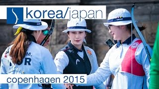 Korea v Japan – Recurve Women's Team Bronze Final | Copenhagen 2015