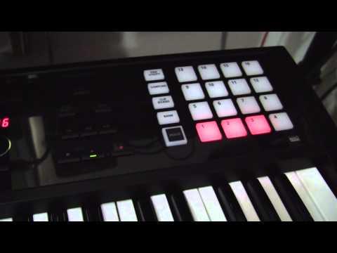 FA-06 workstation - recording audio