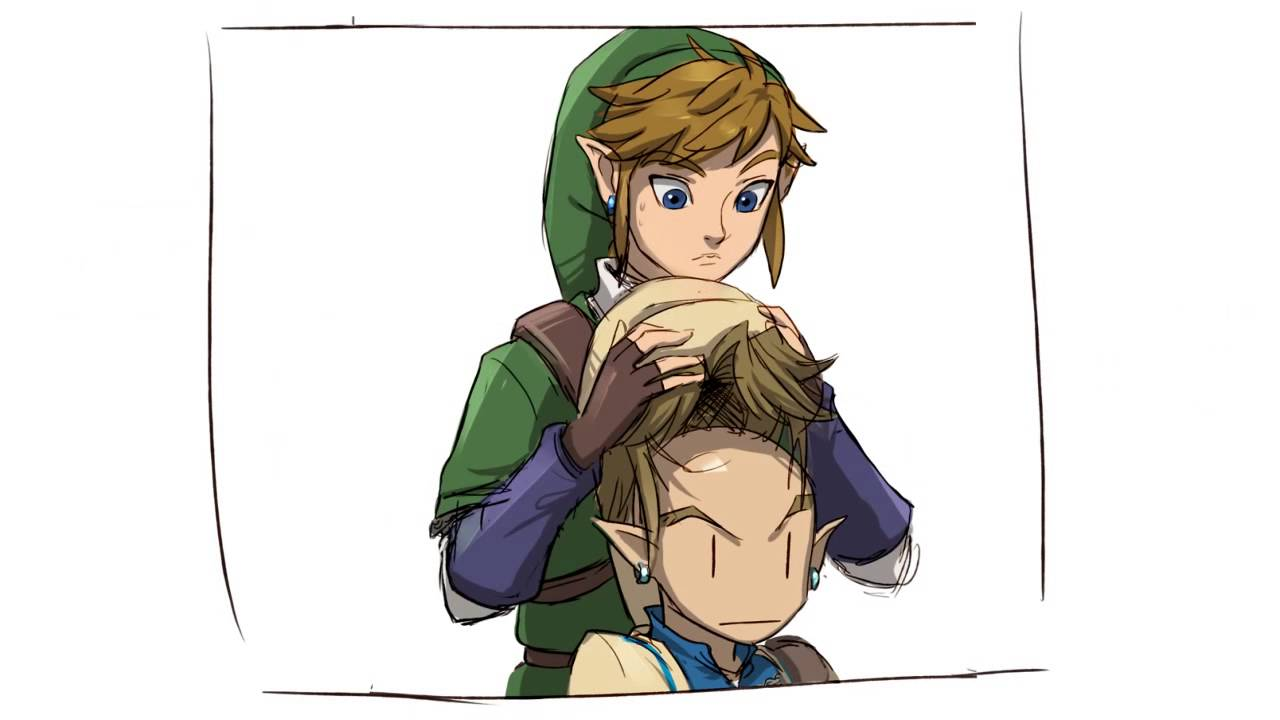 Hyrule Warriors Comic By Alderion Al Link S Hair Youtube