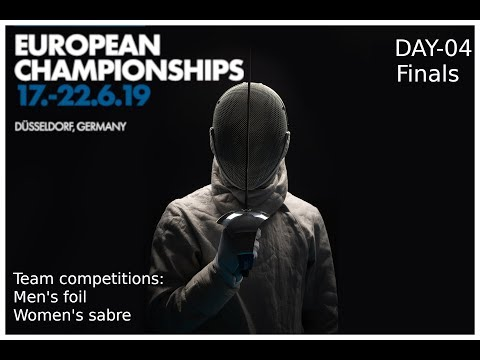 European Championships 2019 Day 04 Finals