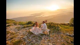 Свадьба в Черногории на горе Ловчен Льва и Ульяны