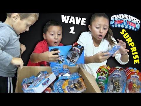 HUGE Skylanders Trap Team WAVE 1 SURPRISE! Starter Pack, Traps, Trap Masters, Cores & Minis Unboxing