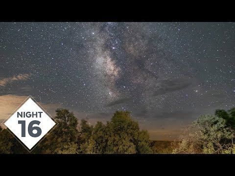 Cloudy Milky Way Photography out at Dry Pond for Night 16! | #TheGreatMilkyWayChase Vlog