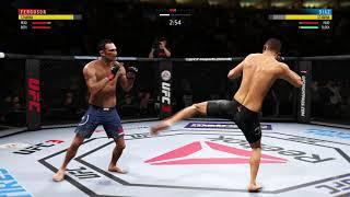 When you dont check leg kicks in UFC 3 (FastKO)(Cheese)