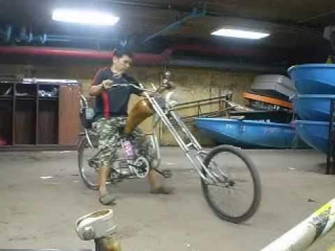 จักรยานช็อปเปอร์ทำมือ ( กลุ่มเฟสบุ๊คจักรยานแนวๆ )