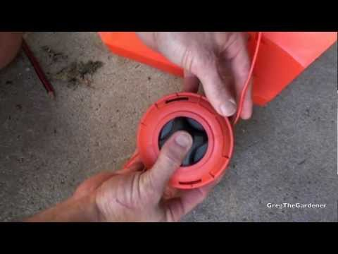 how to start a whipper snipper