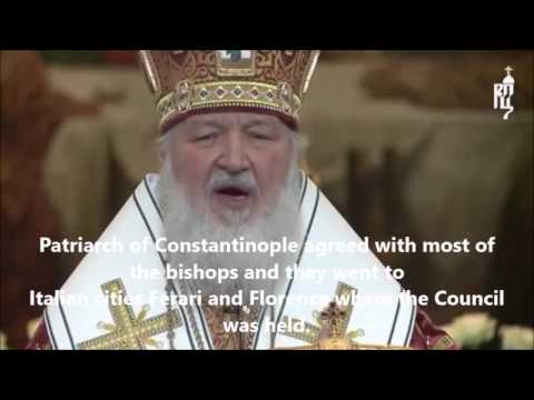 Patriarhul Kyril al Moscovei critică unirea cu catolicii
