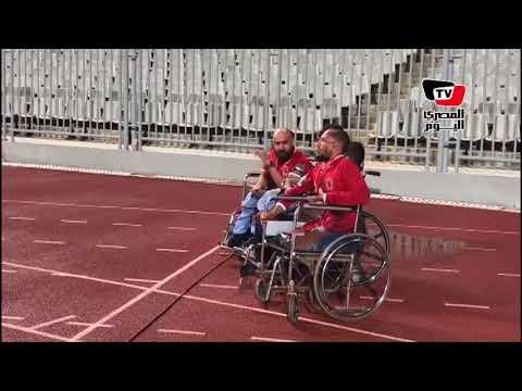 ذوي الاحتياجات الخاصة يدعمون الأهلي في مواجهته الأفريقية  - 01:21-2018 / 7 / 18
