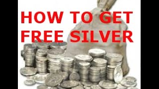 """HOW TO GET """"JUNK"""" SILVER COINS AT FACE VALUE FREE , INVESTING, CHEAP, TIGHT BUDGET, LOW COST"""